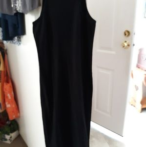 Forever21 Sleeveless Black Dress Size M